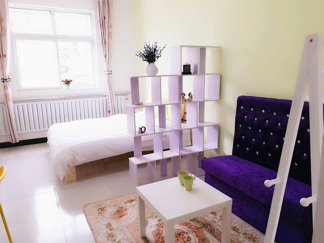 Quiet Comfortable Studio with Wifi & Bath - Beijing - Lägenhet