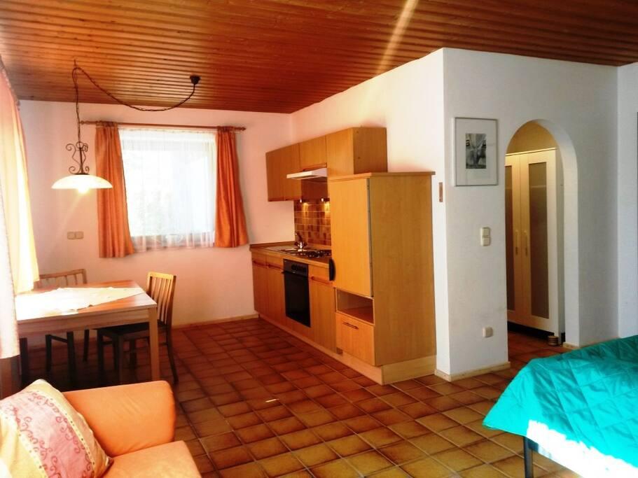 Ferienwohnung mit Küche und Bad