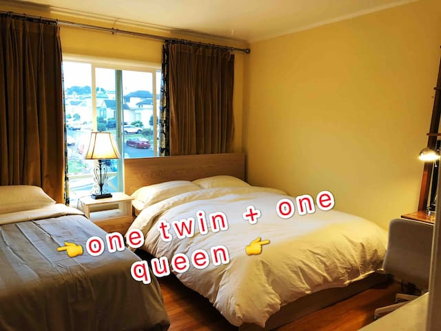 Super cozy room near Train station&airport R5