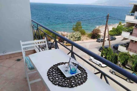 Seaside apartment.(10meters from the beach)
