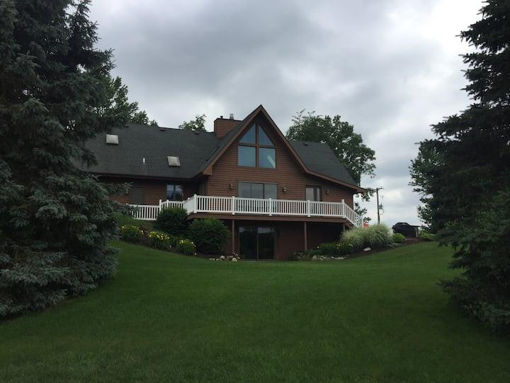 Luxury home on Hutchins Lake.