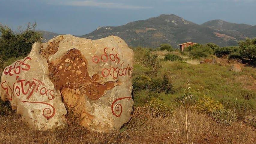 Korogonas Ark organic house & land - Laconia