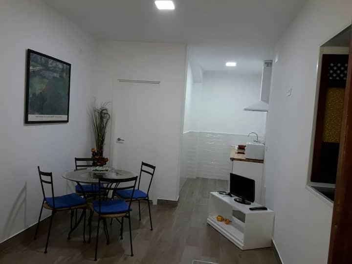 Studio in Sevillian patio