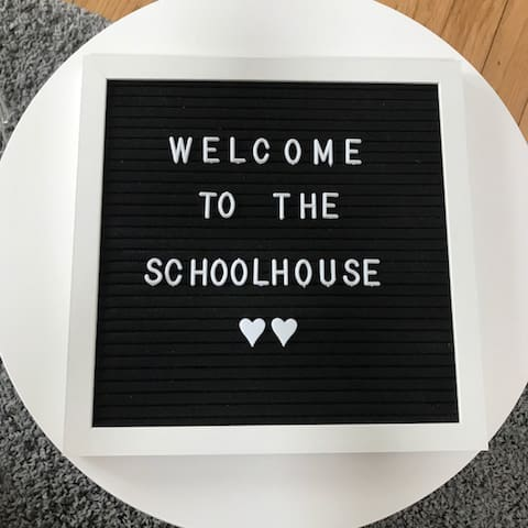 We would love to welcome you to the Schoolhouse!