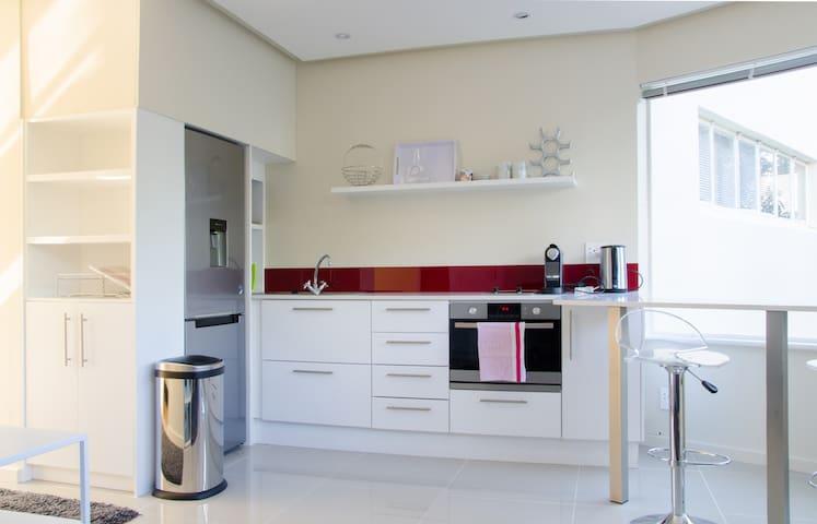 Fully equipped kitchenette incl Espresso Machine