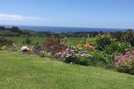 Seaview Takaka. Sea, rural and garden views. - Puramahoi