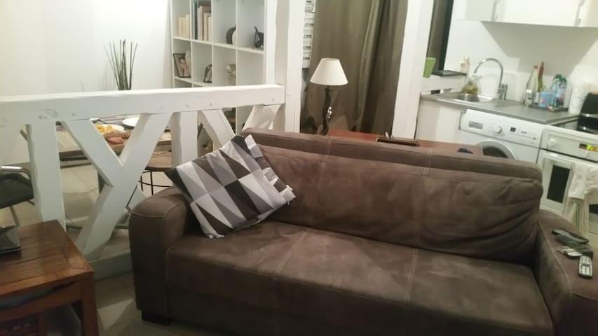Cosy et verdoyant appartement au centre de Brunoy