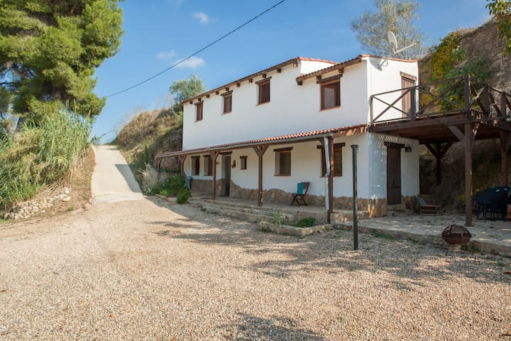 Te huur vakantie huis aan de Ebro - Garcia - Houten huisje