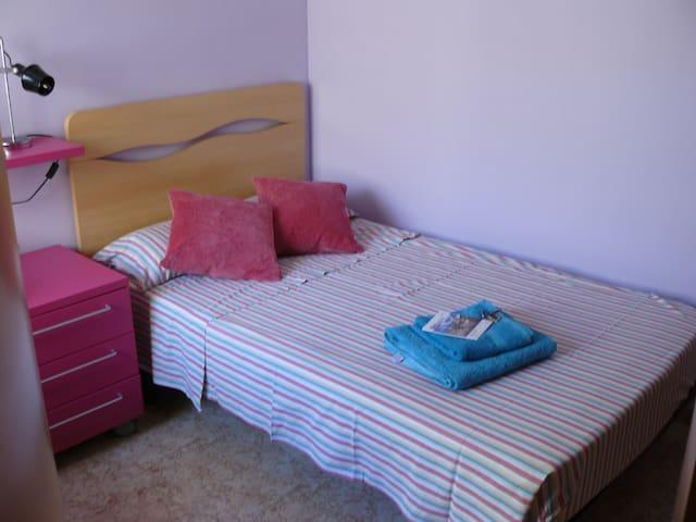 Preciosa habitación individual