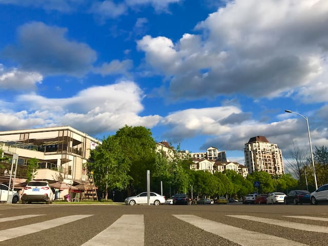 A Top Class Apartment Beside River(龙湖名居,观江豪宅-江与城)