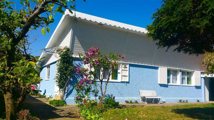 Maison et jardin, 5mn du lac et des commerces