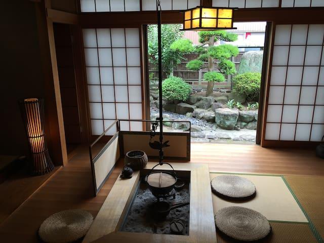 25min from NANBA,NARA . traditional Japanese IRORI - Higashiōsaka-shi