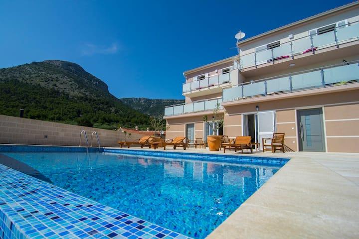 Villa Nikola - amazing sea view apartment 5