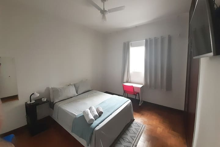 B-Comfortable double room px. to av. Paulista