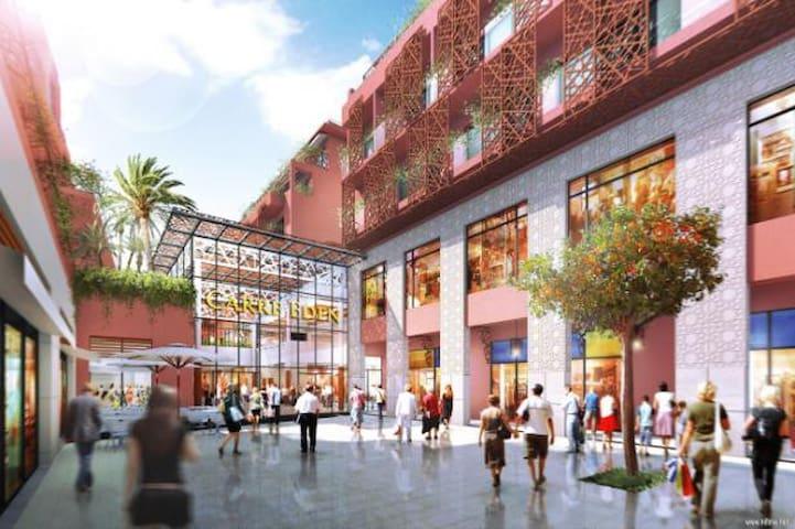 Modern flat in the heart of Marrakech, Gueliz - Marrakech - Apartemen
