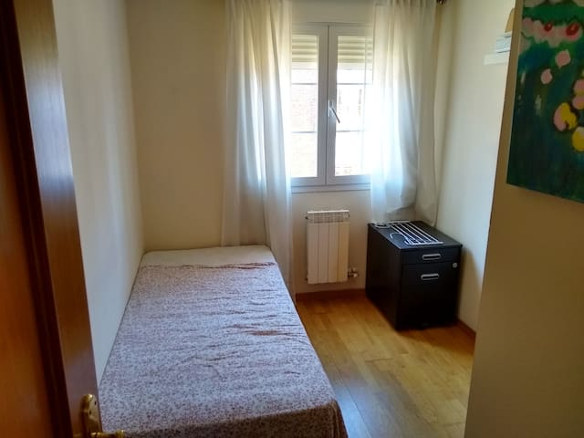 .  Single room, closed to airport