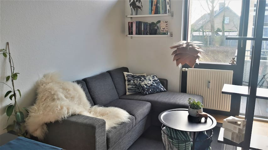 Clean, calm and cosy apartment in western Aarhus