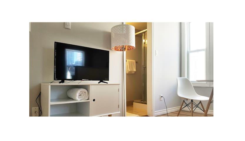 Modern One Bedroom in Center of Ottawa+ parking - Ottawa - Apartamento