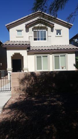 Las Vegas Home beautiful gated community