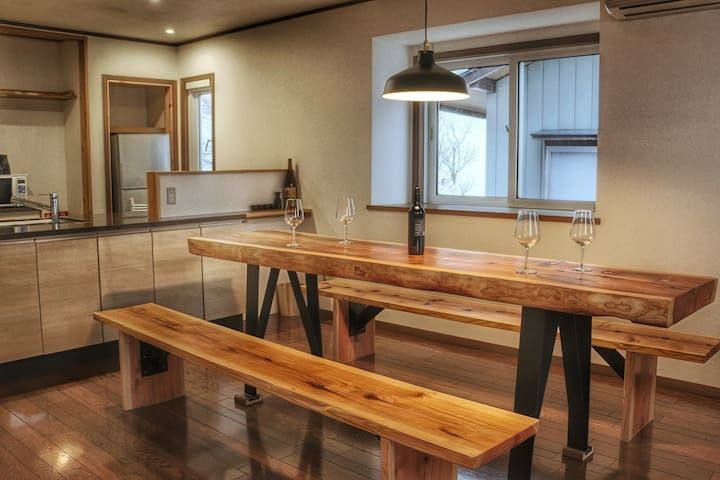 Akari bright 4 bedroom apartment - Nozawaonsen - Apartment