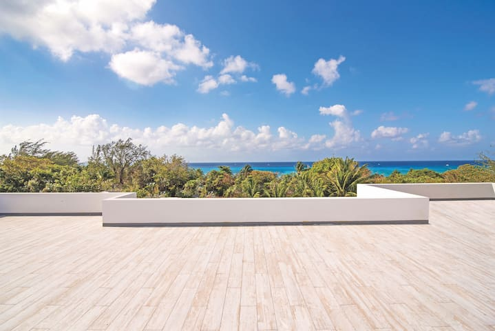Roof Top Terrace with amazing views.