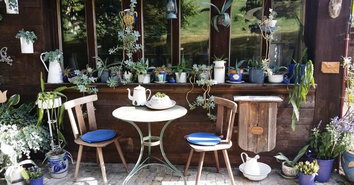 Bauernhaus-Zimmer 1 in Waldidylle, 15 Min.von Bern