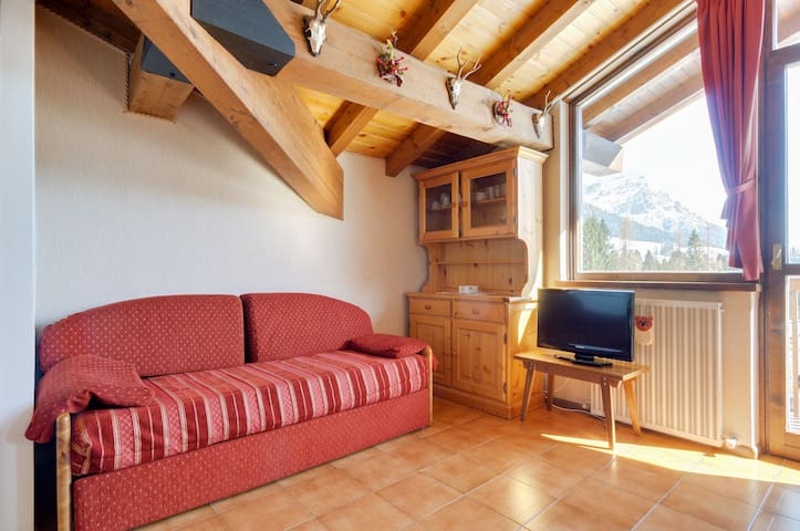 nice attic faced Pale S.Martino - San Martino di Castrozza - Apartment