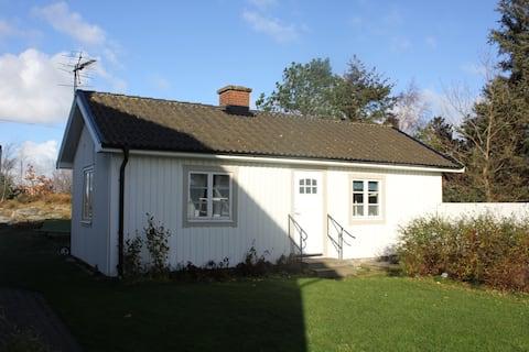 Guest house at Skrea Strand.