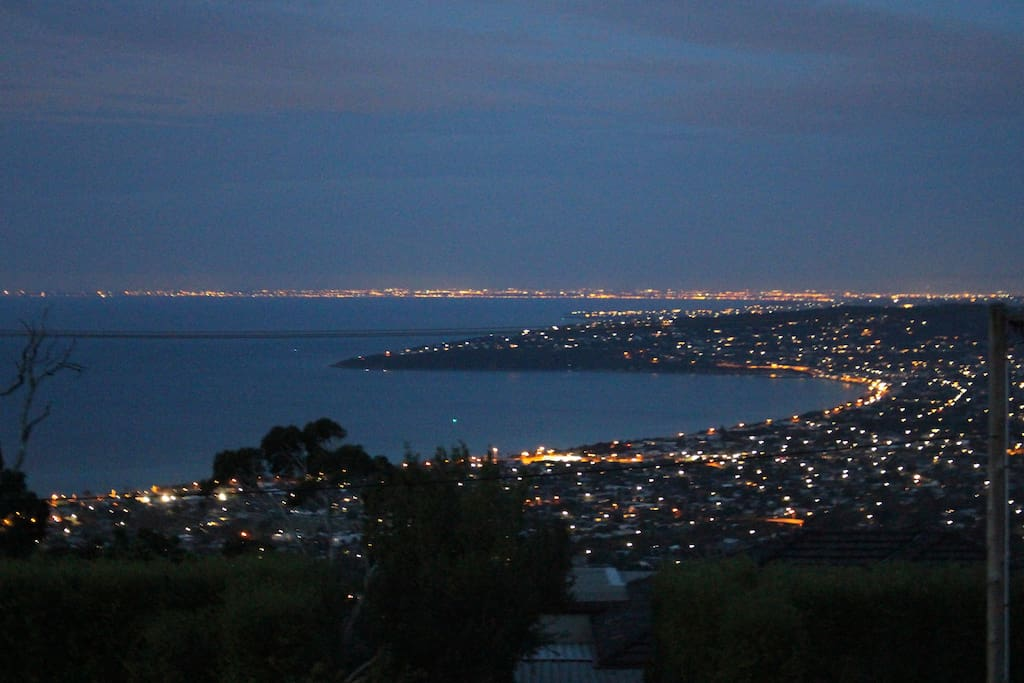 You may be lucky and see fireworks around the bay