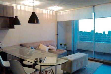 Departamento de 2 habitaciones con vista al mar - Renaca - Huoneisto