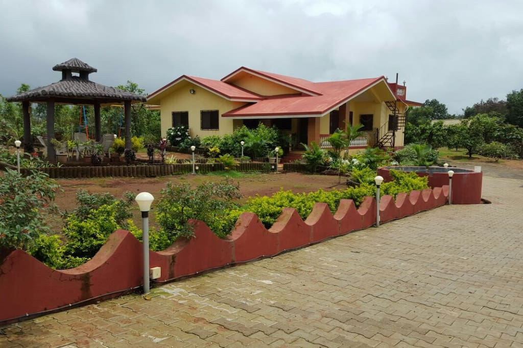 Hill Top Home Nr Amby Valley Bungalows For Rent In Lonavala Maharashtra India