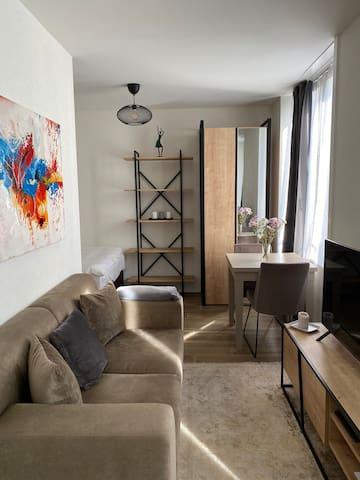 Charming & quiet studio in the heart of Zürich