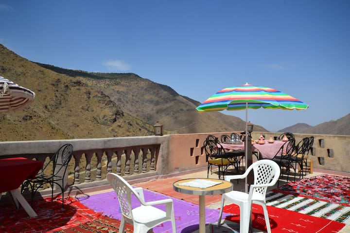 Apartment with Terrace, Atlas Lodge
