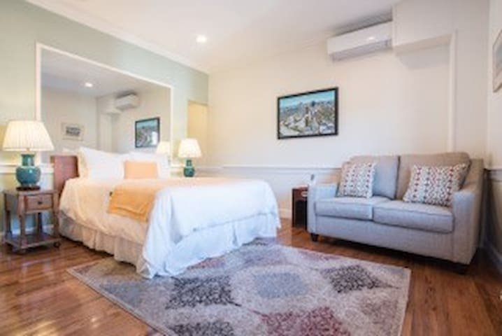 Studio with sofa bed in Back Bay