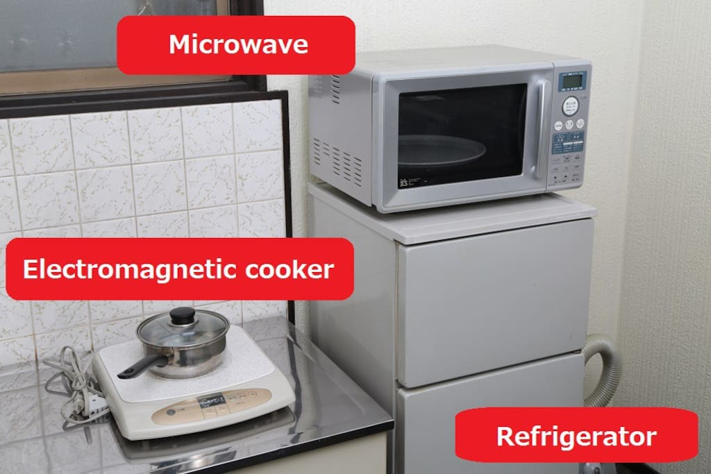 Microwave and electromagnetic cooker 微波炉和电磁炉 전자 렌지와 전자 조리기