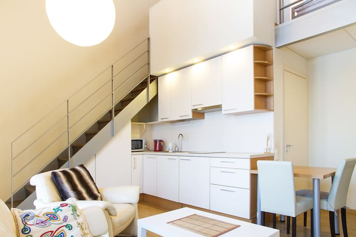 Sunny, modern and cosy studio - Kaunas - Apartment