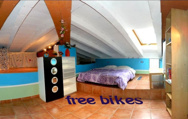 room2 (5km to city center by bikes) - Florence