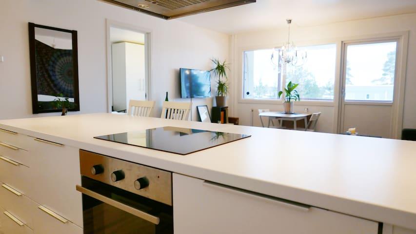 Modern apartment  - quiet and close city center - Elverum - Pis