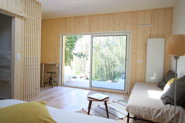 Un havre de paix dans une maison en bois