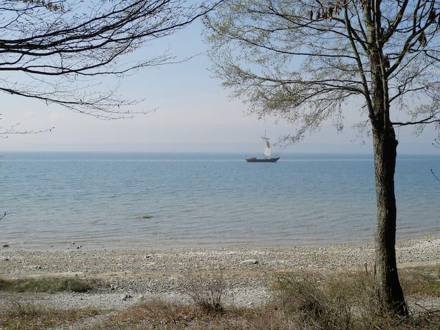 """Auszeit am Bodensee, Wohnung """"Apfelbaum""""  links EG"""
