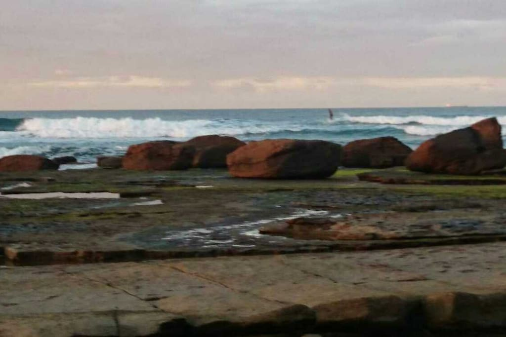 Moffat Beach surf spot
