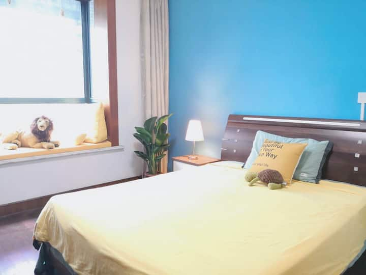 Cozy Room by Maglev station PVG @Century Park