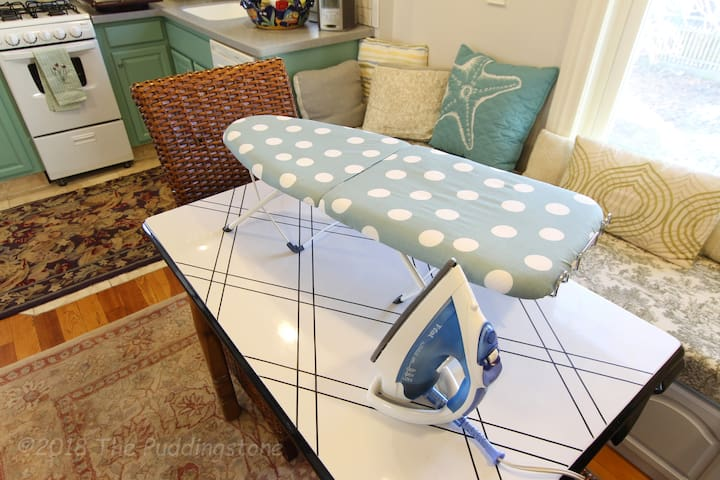 Ironing board, hair dryer and other basic amenities are available. Need anything else, just ask.