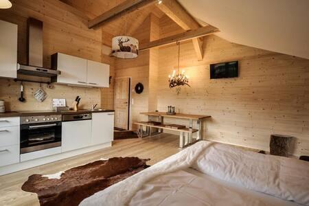 Steirer Apartment Semmering mit großer Terasse