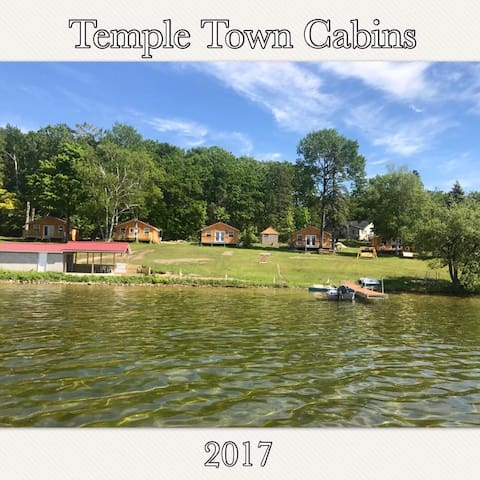 Temple Town Cabins Opens July 2017