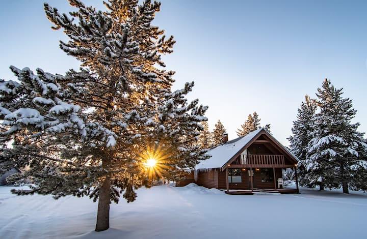 Yellowstone Caldera Cabin