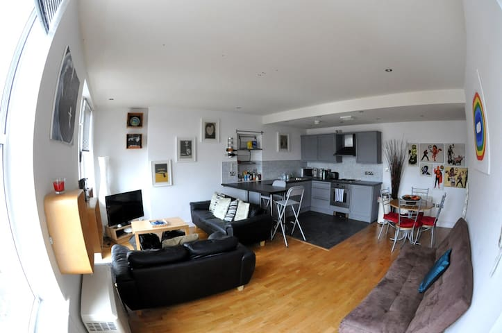Cardiff City Centre Maisonette / Penthouse