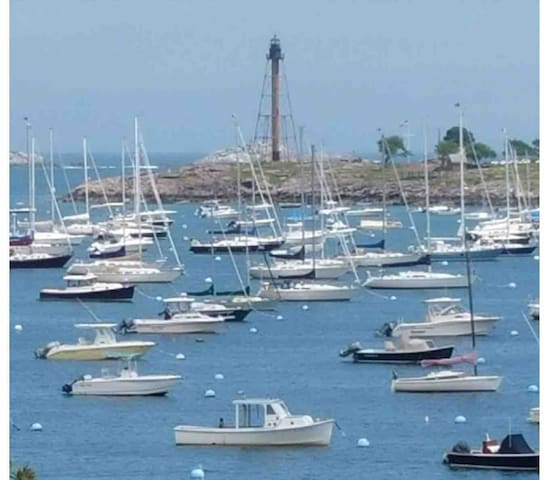 Marblehead: Tranquil retreat in the heart of town.