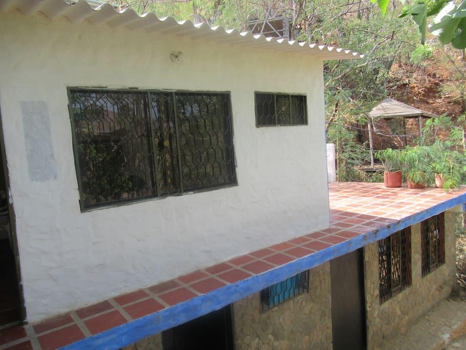 Cabaña en segundo piso Cottage on second floor