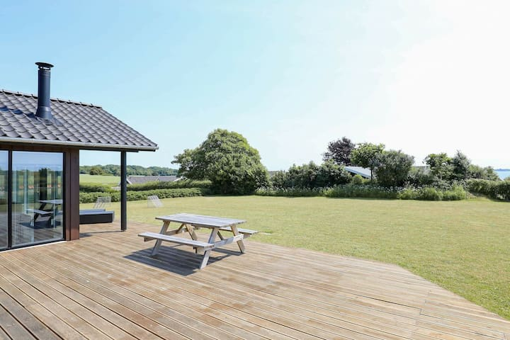 Encantadora casa en Faaborg, Funen, con terraza